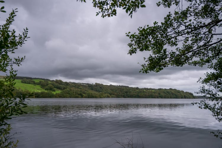 View of Anglezarke Reservoir from the western shore