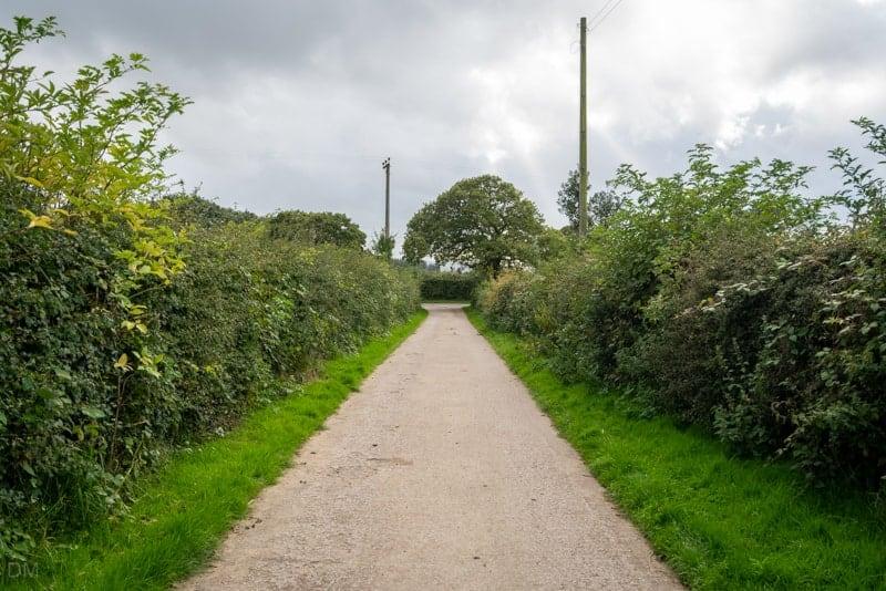 Driveway of Kays Farm