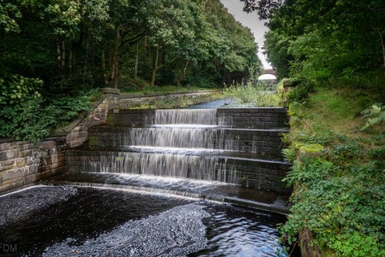 Yarrow Reservoir overflow