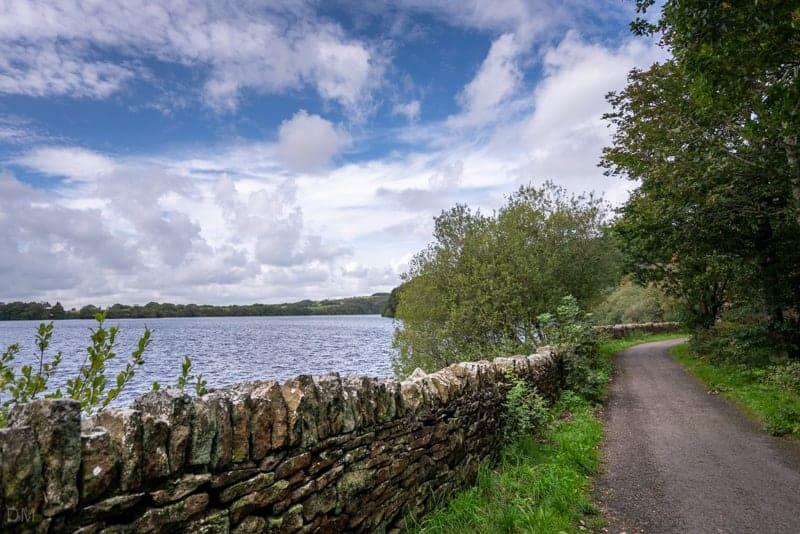 Path along eastern shore of Anglezarke Reservoir