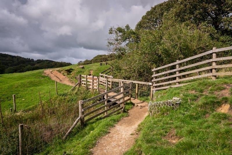 Siddow Fold Farm on eastern shore of Anglezarke