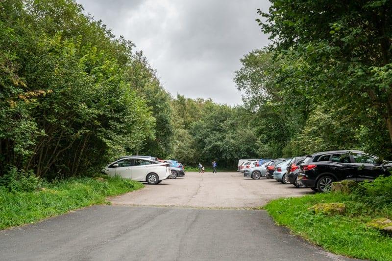 Anglezarke car park