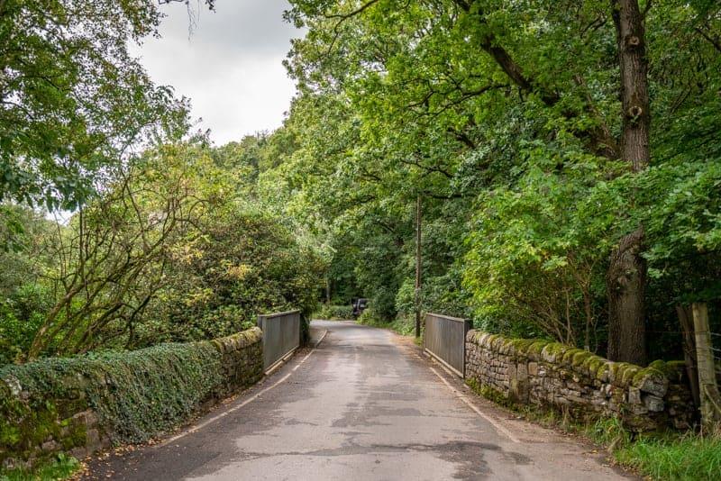 Bridge over The Goit on Moor Road