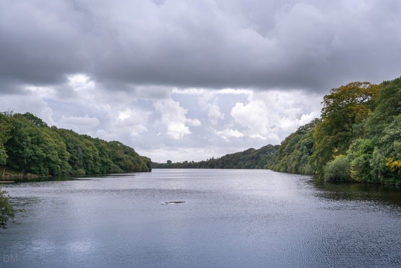 View of Anglezarke from the Heapey Embankment