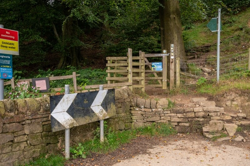 Gate into Grey Heights Wood
