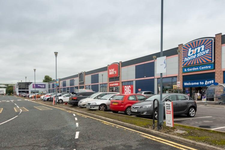 Food Warehouse and B&M, Blackburn, Lancashire