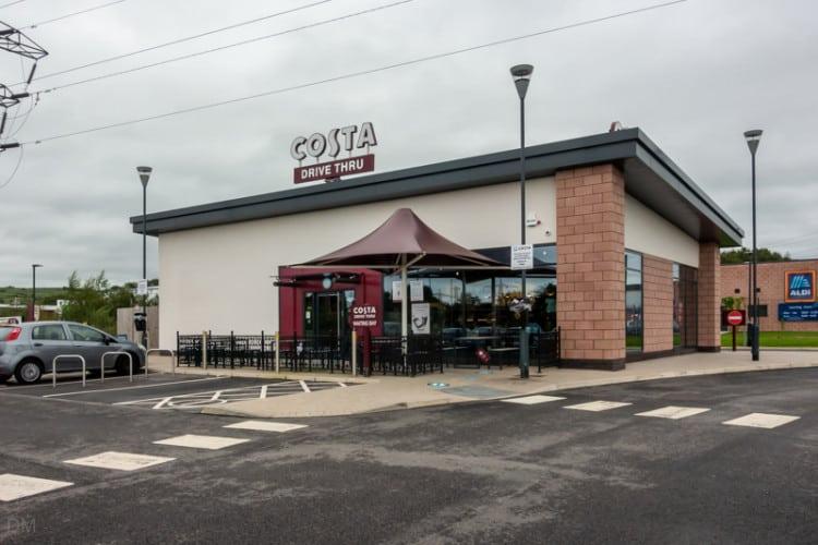 Costa, Hyndburn Retail Park, Blackburn