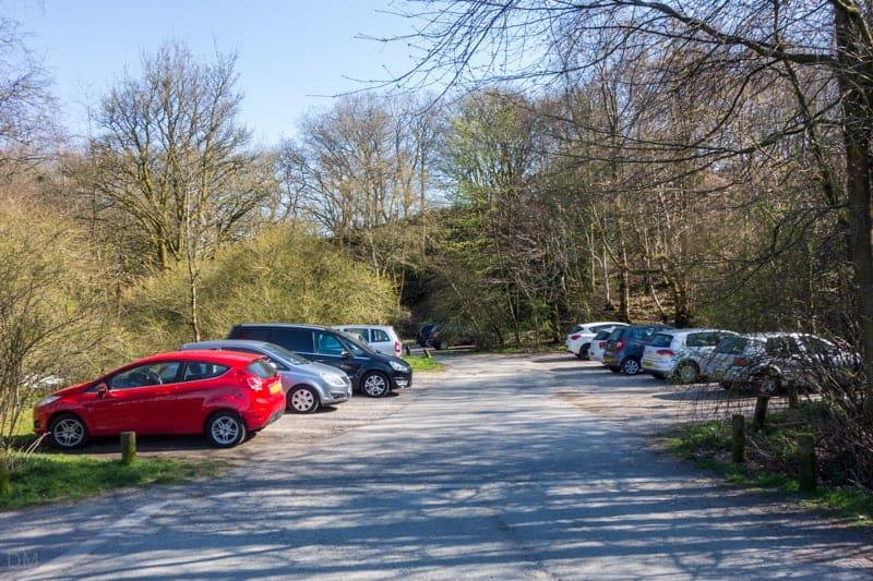 Batridge Road car park at Entwistle Reservoir