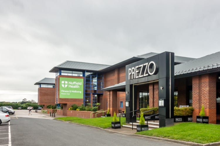 Nuffield Health and Prezzo, Capitol Centre