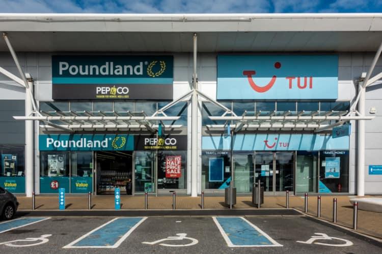 Poundland and TUI, Preston
