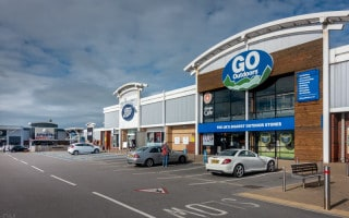 Deepdale Retail Park, Preston