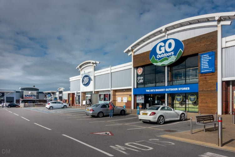 Boots and Go Outdoors, Deepdale Retail Park, Preston
