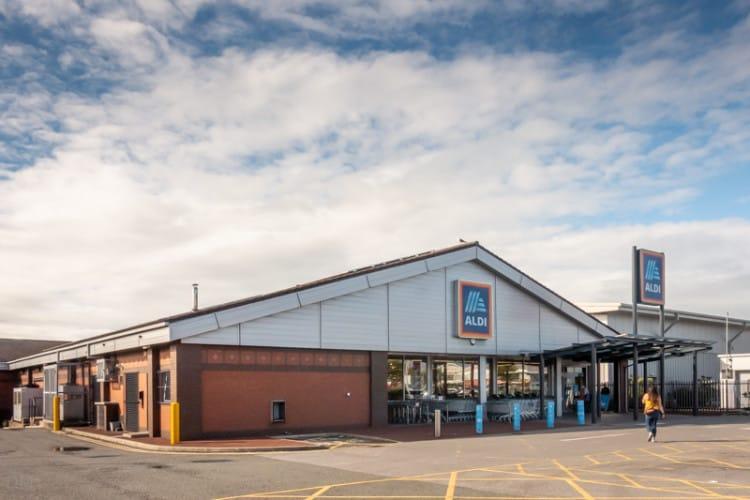 Aldi supermarket, Preston, Lancashire