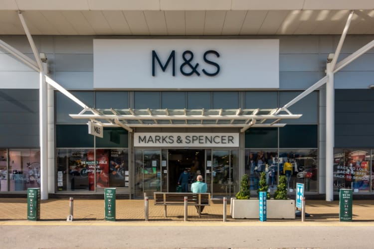 M&S, Marks and Spencer store, Preston