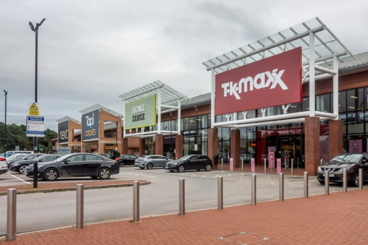 Homesense and TK Maxx at the Capitol Centre, Walton-le-Dale, Preston