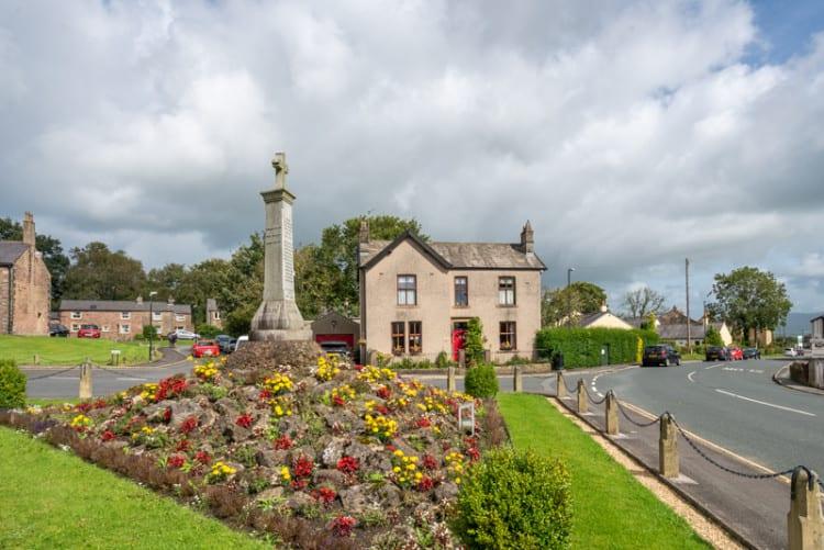 War memorial at Hurst Green, Lancashire