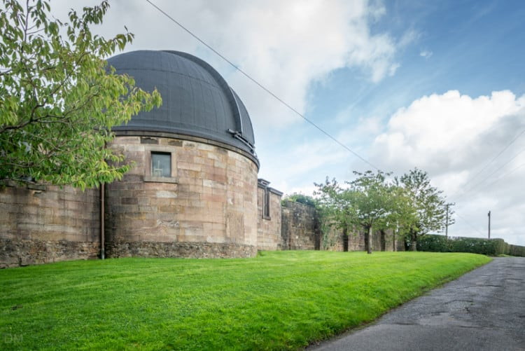 Stonyhurst Observatory, viewed from the Tolkien Trail