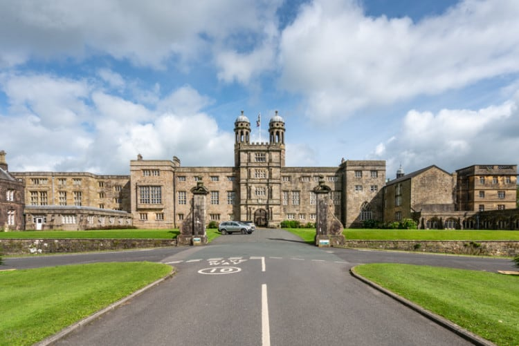 Main entrance to Stonyhurst College