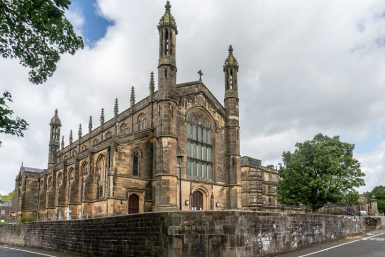 St Peter's Church, Stonyhurst College, Lancashire