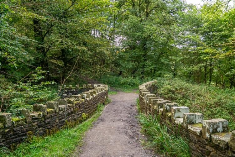Stone bridge in Over Hacking Wood
