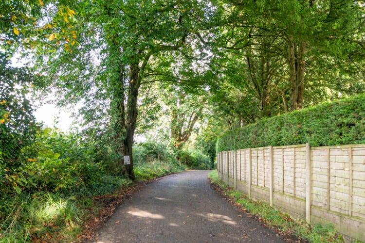 Road to Winckley Hall Farm