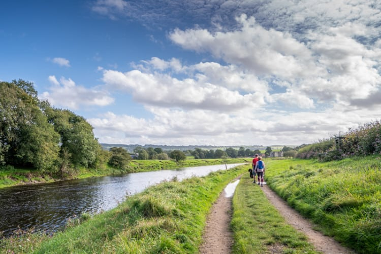 Tolkien Trail and the River Ribble