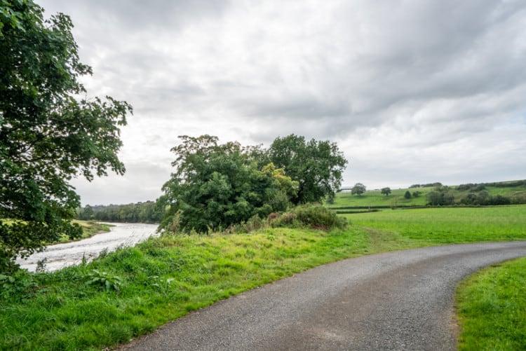 Path following River Ribble