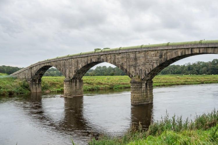 Aqueduct, River Ribble, Lancashire