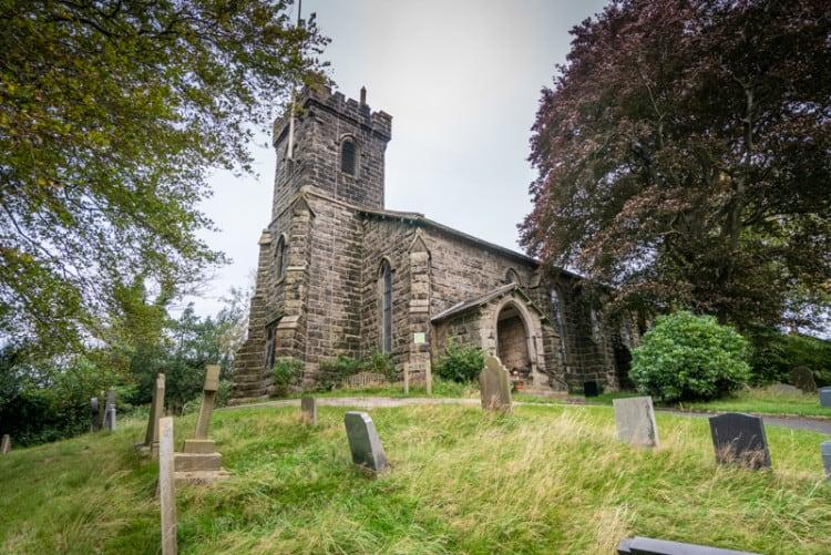 Church of St John the Evangelist (St John's Church), Hurst Green, Lancashire