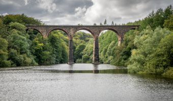Armsgrove Viaduct at Wayoh Reservoir