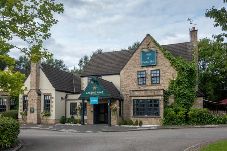 Red Robin pub, Wigan