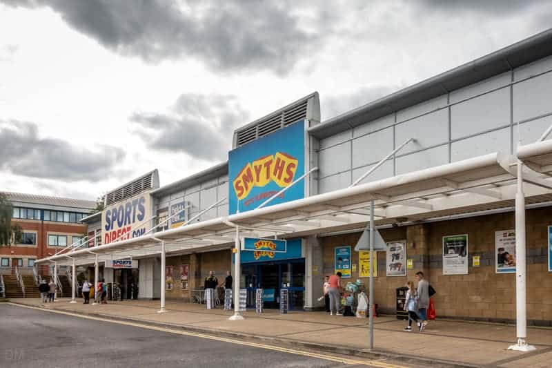 Sports Direct and Smyths at Robin Park in Wigan