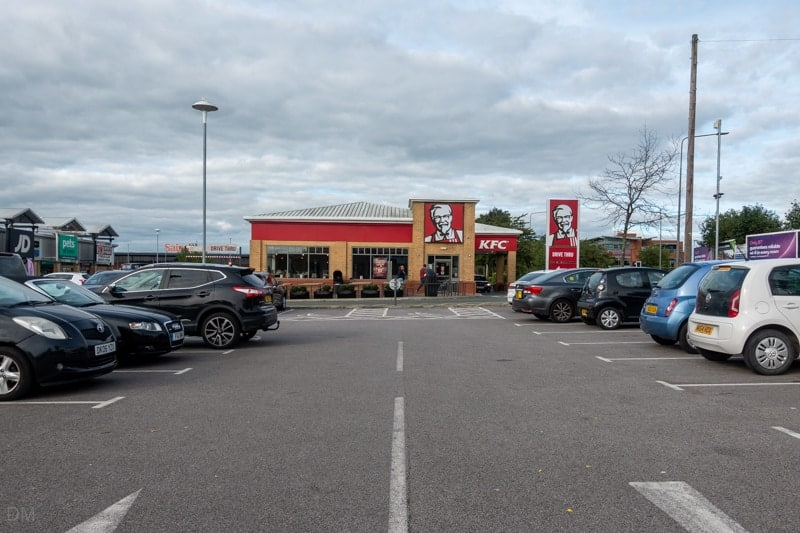 KFC, Leigh, Greater Manchester
