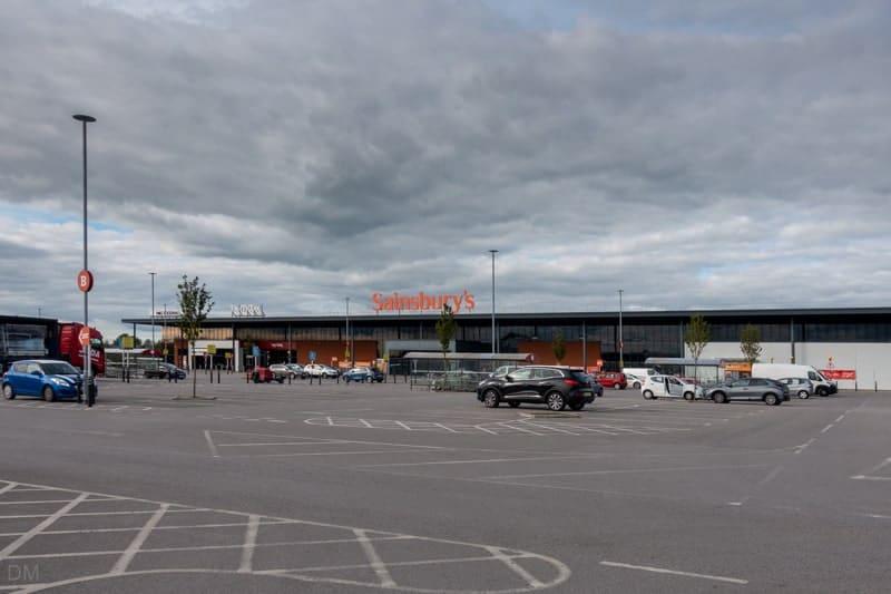 Sainsbury's at Parsonage Retail Park, Leigh