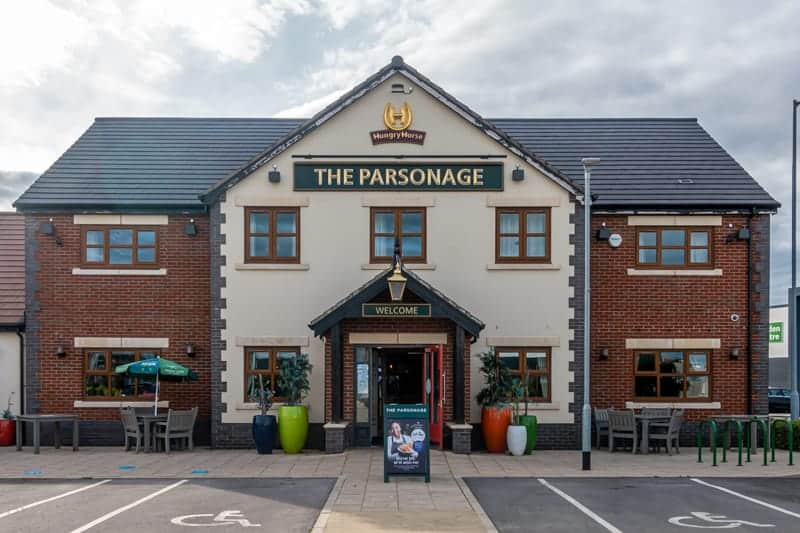 The Parsonage pub, Leigh, Greater Manchester