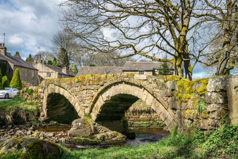Packhorse Bridge, Wiycoller Country Park