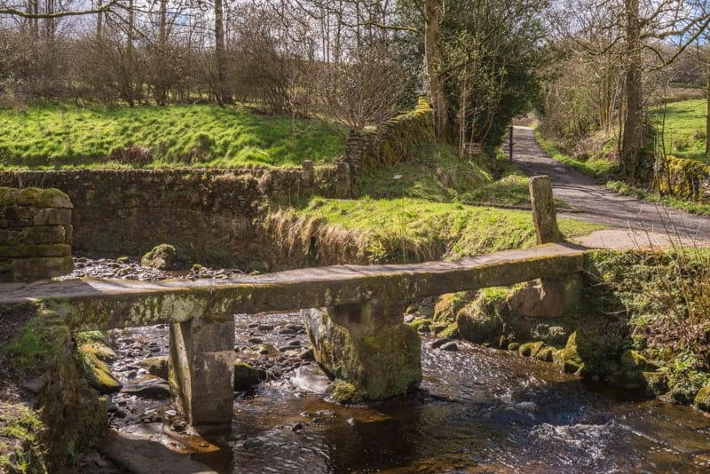 Clapper Bridge, Wycoller Country Park