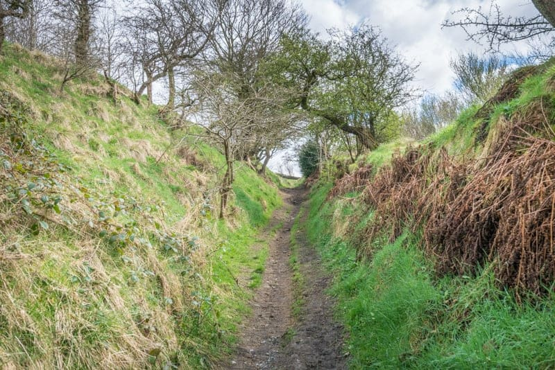 Path through valley, Wycoller, Lancashire