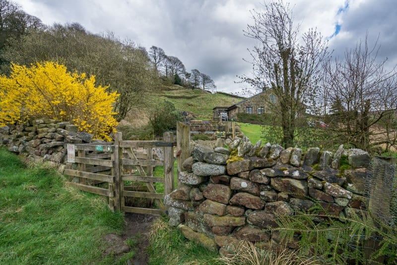Kissing gate, Wycoller