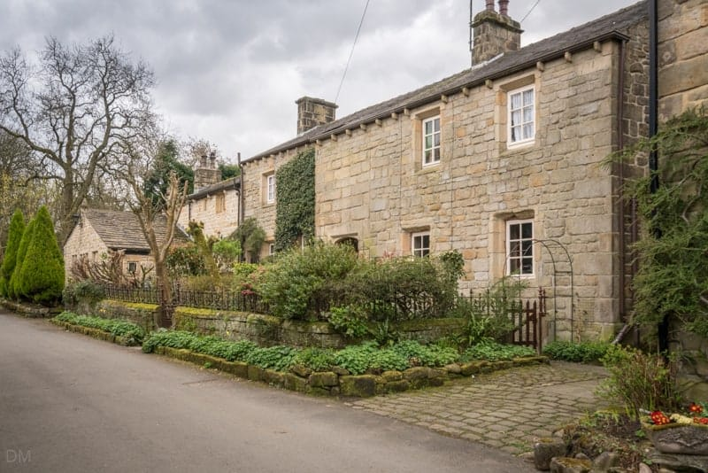 Cottages at Wycoller village