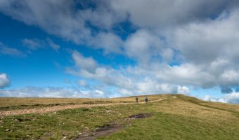 Clouds over Pendle Hill