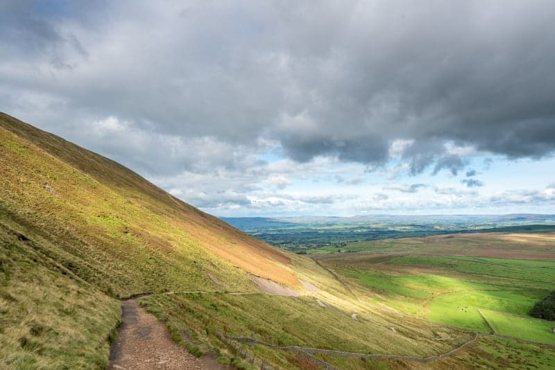'Slope' on Pendle Hill