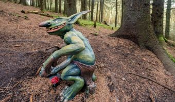 Boggart at Pendle Sculpture Trail