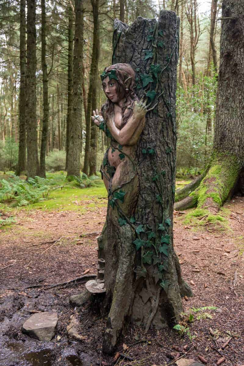 Dryad by Incredible Creations at Pendle Sculpture Trail