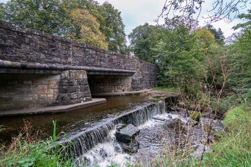 Weir at Barley Picnic Site