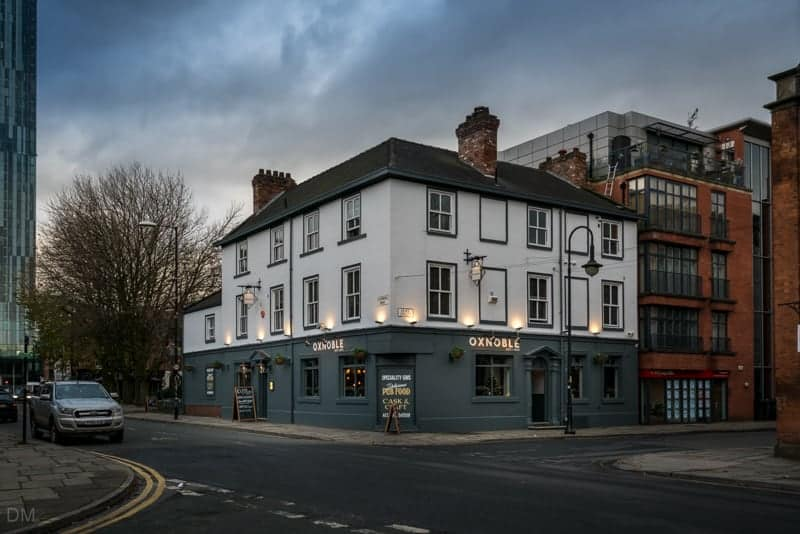 Oxnoble pub and hotel, Manchester