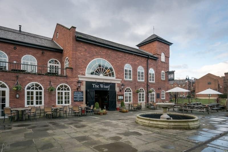 The Wharf pub, Manchester