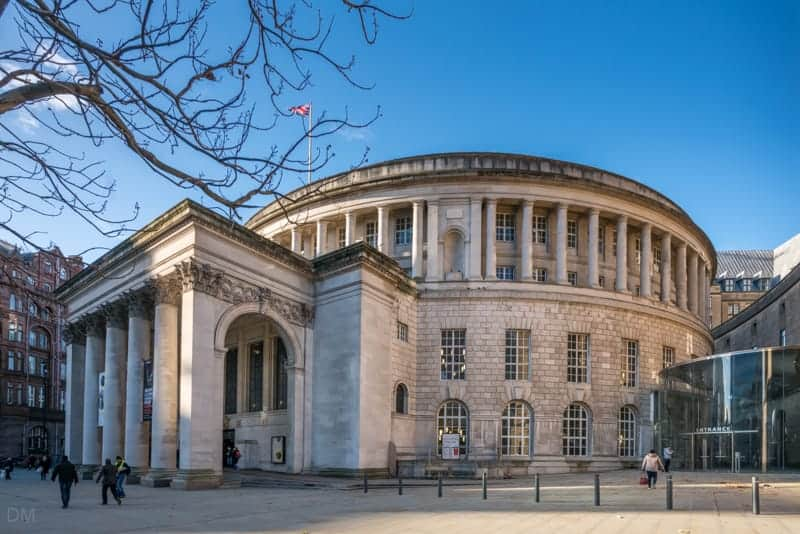 Manchester Visitor Information Centre at Manchester Central Library, St Peter's Square