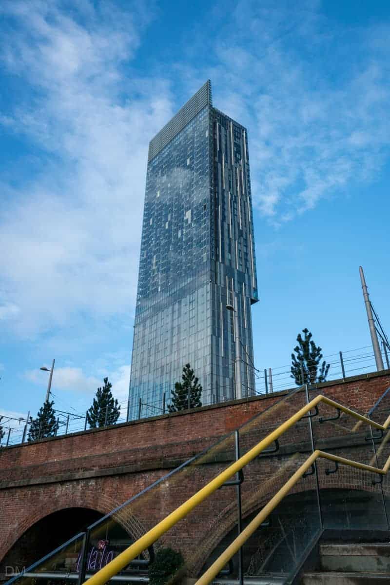 Deansgate Locks and Beetham Tower, Manchester