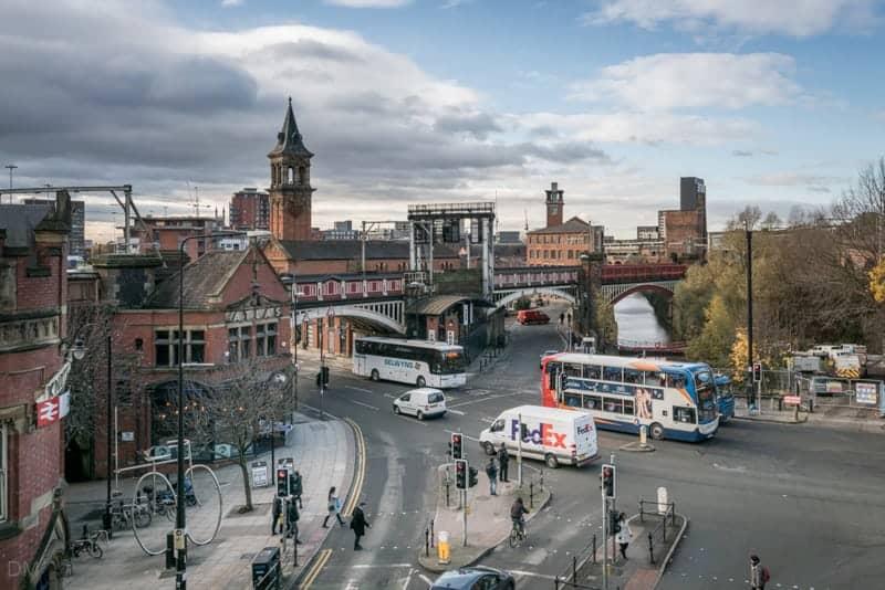 Deansgate Train Station, Manchester